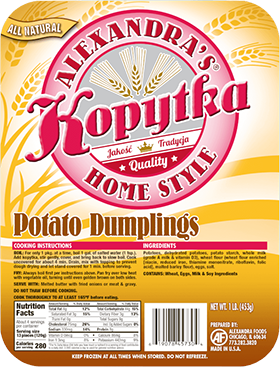 Kopytka Potato Dumplings